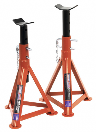Sealey AS2500 Axle Stands (Pair) 2.5 Tonne Capacity per Stand